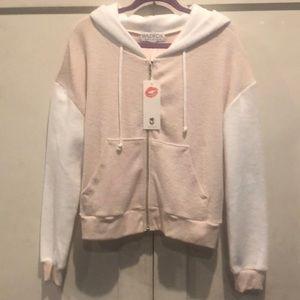 Wildfox fleece jacket